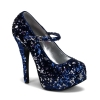 TEEZE-07SQ Blue/Silver Sequins
